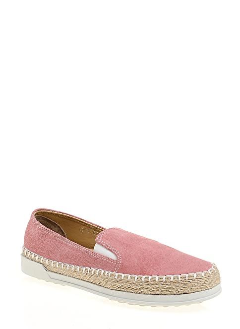 Stoneblue %100 Deri Casual Ayakkabı Pembe
